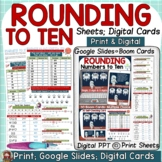 PLACE VALUE ROUNDING NUMBERS TO TEN PRINT & DIGITAL GOOGLE
