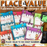 HALLOWEEN: PLACE VALUE SCAVENGER HUNT