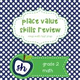 PLACE VALUE Skills MBSP Prep Grade 2
