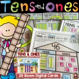 PLACE VALUE: BASE TEN: TENS AND ONES: PRINT & BOOM DIGITAL CARDS