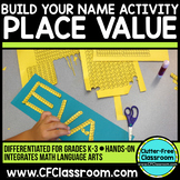 Place Value Hands On Activity Build Your Name