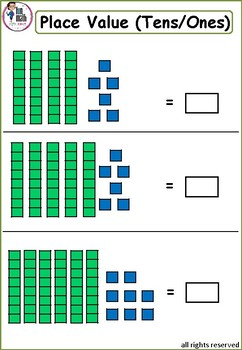 PLACE VALUE puzzle pictures worksheets