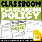 PLAGIARISM POLICY Editable Template Plagiarism Questionnai