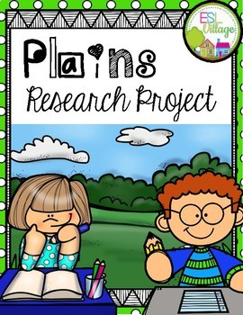 PLAINS Research/Report Project Booklet