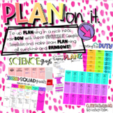 PLAN on it!! {EDITABLE Google Drive Planning Templates!!}