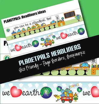PLANETPALS™ Borders set of 3.