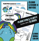 Cloud Activity Lesson Set Learn Cloud Types Drawing Color w Fluffy Earth Science