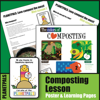 PLANETPALS™ Color of Composting Lesson POSTER