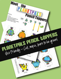 Earth Theme Earthday Activity Eco Friendly Pencil Toppers Lesson Craft