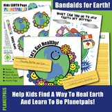 Earth Day Save Earth Bandaids Healthy Planet Activity Inte