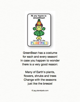 Seasonal Spring Writing Page and Coloring Sheet Earth Science Activity & Poem