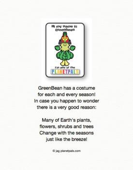 Seasonal Summer Writing Page Coloring Sheet Earth Science Activity & Poem