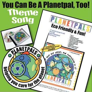 """PLANETPALS™ Theme Song """"You Can Be A PlanetPal, too!"""""""