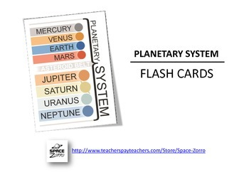 PLANETS Flash Cards