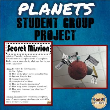 PLANETS OF THE SOLAR SYSTEM PROJECT