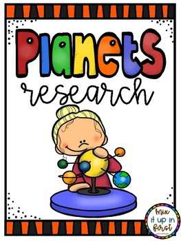 PLANETS RESEARCH WRITING