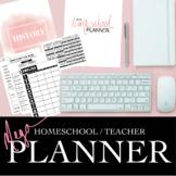 PLANNER - HOMESCHOOL / TEACHER / CLASS
