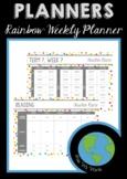 PLANNERS - Rainbow Weekly Planner