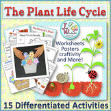 Life Cycles PLANTS LIFE CYCLE Unit with Craftivity