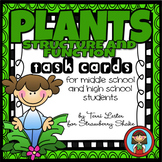 PLANTS Task Cards for Middle and High School Biology Life Science