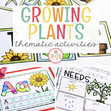 PLANTS THEME ACTIVITIES FOR PRESCHOOL, PRE-K AND KINDERGARTEN