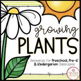 PLANTS THEME ACTIVITIES FOR PRESCHOOL, PRE-K AND KINDERGARTEN