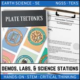 PLATE TECTONICS - Demo, Lab & Science Stations