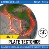 PLATE TECTONICS UNIT - 5E Model
