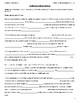 PLATO Note Packet - English 10 Semester B