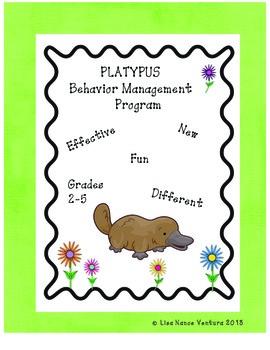 PLATYPUS Behavior Management/Discipline Tools
