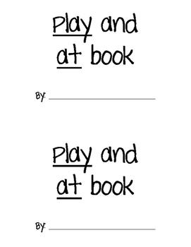 PLAY & AT Sight Word Book