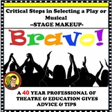PLAY DIRECTING TIPS FOR BEGINNING AND ADVANCED THEATRE/ STAGE MAKEUP