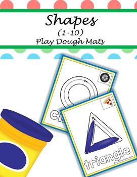 PLAY DOUGH MATS - SHAPES