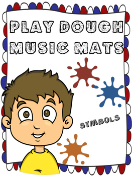 PLAY DOUGH MUSIC MATS - MUSIC SYMBOLS/CLEFS