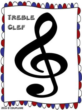 PLAY DOUGH MUSIC MATS BUNDLE - NOTES, RESTS, TIME SIGNATURES, SYMBOLS, CLEFS