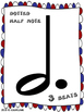 PLAY DOUGH MUSIC MATS BUNDLE - NOTES, RESTS, TIME SIGNATURES, SYMBOLS, CLEFS