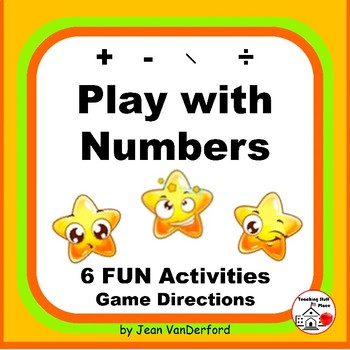 PLAY with Numbers ... Multi-step Problems ... FUN Workshee