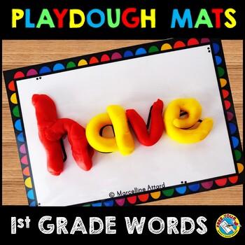 PLAYDOUGH MATS (SIGHT WORDS PRACTICE 1ST GRADE)
