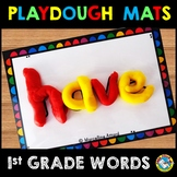 PLAYDOUGH MATS (SIGHT WORDS PRACTICE 1ST GRADE)