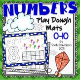 PLAYDOUGH PLAY DOUGH PLAYDOH COUNTING MATS - Numbers 0-10 Spring Kites