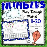 PLAYDOUGH PLAY DOUGH PLAYDOH COUNTING MATS - Numbers 11-20 Spring Kites