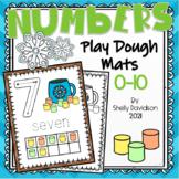 PLAYDOUGH PLAYDOH COUNTING MATS - Numbers 0-10 Winter Marshmallows