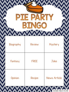 PLAYING WITH PIES: Author's Purpose PIES Activity Pack
