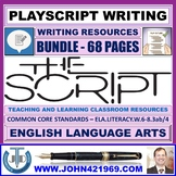 PLAYSCRIPT WRITING - CLASSROOM RESOURCES - BUNDLE
