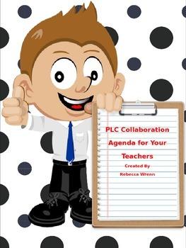 PLC Collaboration Meeting Agenda Form