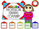 PLC (Professional Development) Clipart (Personal & Commerc