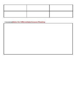 PLC Professional Learning Community Planning Agenda