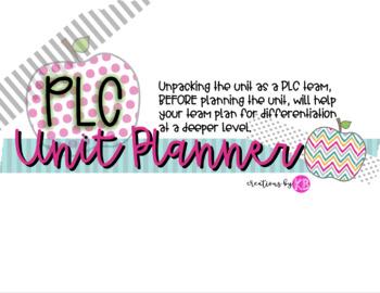 Editable PLC Unit Planner - Google Drive
