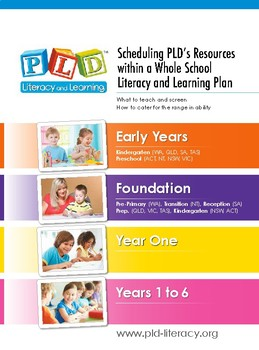 PLD's whole school literacy strategy