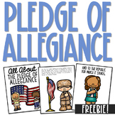 PLEDGE OF ALLEGIANCE Posters   Coloring Book Pages   History Project    FREEBIE!
